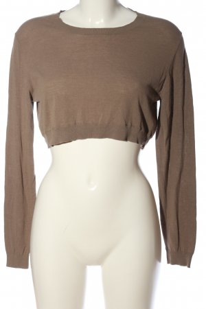 COS Cropped Top braun Casual-Look