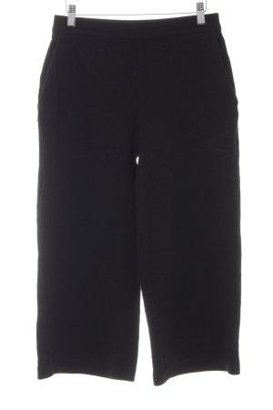 COS Pantalone culotte nero Tessuto misto