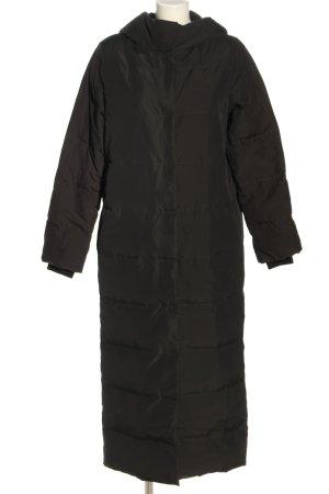 COS Płaszcz puchowy brązowy Pikowany wzór W stylu casual