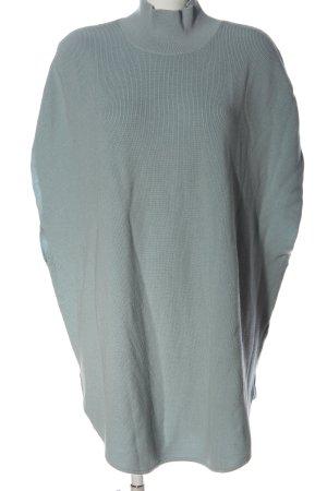 COS Sweter bez rękawów z cienkiej dzianiny niebieski Warkoczowy wzór