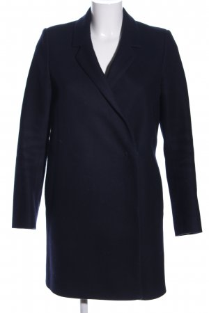 COS Manteau polaire bleu style d'affaires