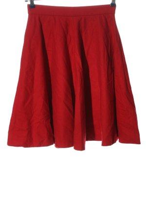 COS Rozkloszowana spódnica czerwony W stylu casual