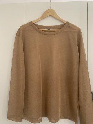 Cos golden blouse