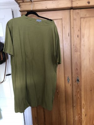 COS A Line Dress green