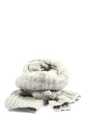 COS Szydełkowany szalik kremowy-jasnoszary Melanżowy W stylu casual