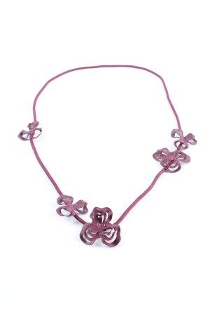 COS Halskette lila Casual-Look