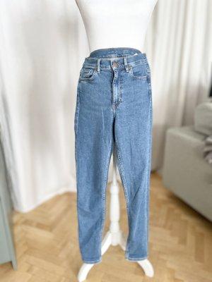 COS Jeans skinny bleu-bleuet coton