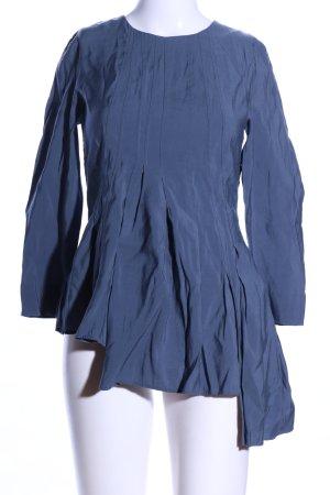 COS Hemd-Bluse blau Casual-Look