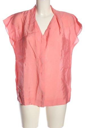 COS Camicia blusa rosa stile casual