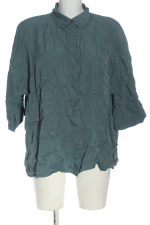 COS Hemd-Bluse grün Casual-Look