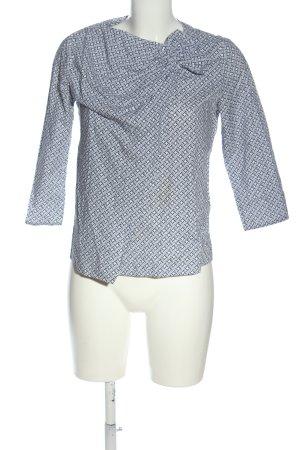 COS Hemd-Bluse blau-weiß Casual-Look