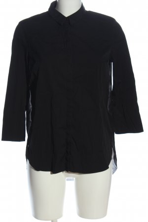 COS Hemd-Bluse schwarz Casual-Look