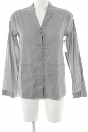 COS Hemd-Bluse grau klassischer Stil