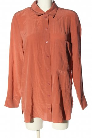 COS Camicia blusa color carne stile professionale