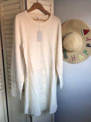COS Robe chemise blanc cassé-crème