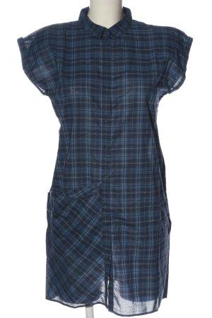 COS Hemdblusenkleid blau Allover-Druck Casual-Look