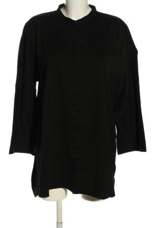 COS Long-Bluse schwarz Casual-Look