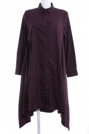 COS Hemdblusenkleid lila Business-Look