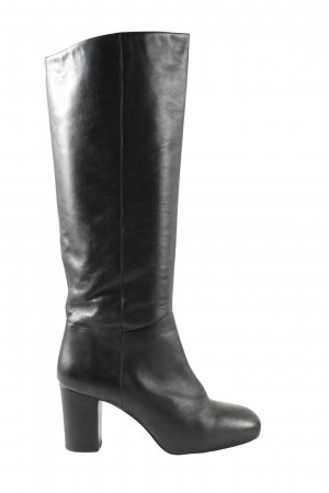 COS High Heel Stiefel schwarz Business-Look