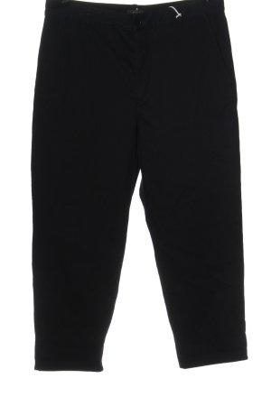 COS Pantalon taille haute noir style décontracté
