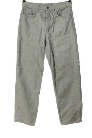 COS High Waist Jeans hellgrau meliert Casual-Look