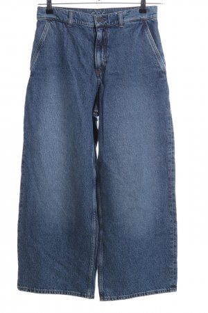 COS Hoge taille jeans blauw casual uitstraling