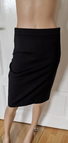 COS High Waist Rock Bleistiftrock kurz Stretch schwarz Gr. 38