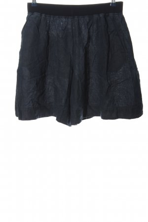 COS High-Waist-Shorts blau Casual-Look