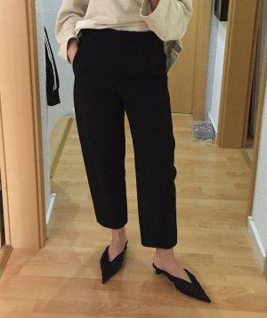 COS Hoge taille broek zwart