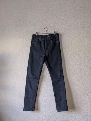 COS High Waist Jeans dark blue