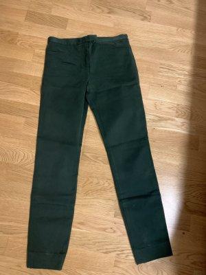COS Drainpipe Trousers dark green
