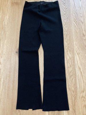 COS Woolen Trousers black