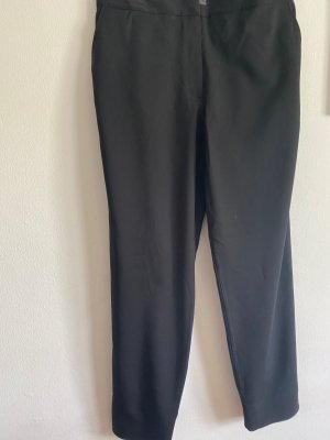 COS Pantalone jersey nero-blu scuro