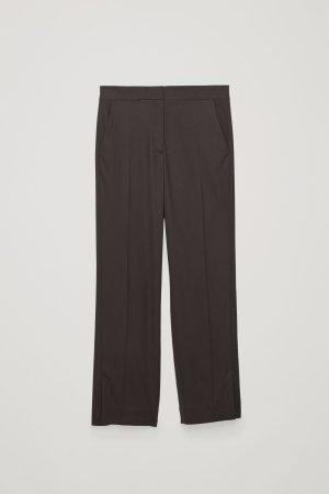 COS Pantalone a pieghe multicolore Viscosa