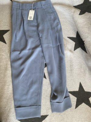 COS High Waist Trousers azure