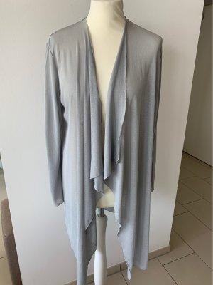 COS Chaqueta estilo camisa gris claro-color plata