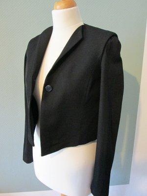 Cos Jacke Kurzjacke minimal Stil schwarz Gr. 34