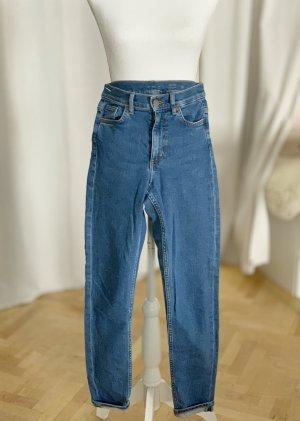 COS Jeans blau mittelblau hellblau Skinny Taille 26/32 XS 34