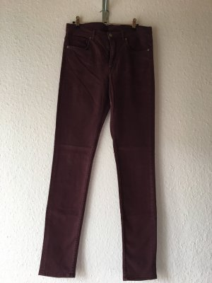 COS Jeans skinny bordeau