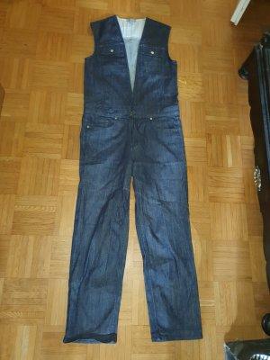COS Langer Jumpsuit blue-dark blue