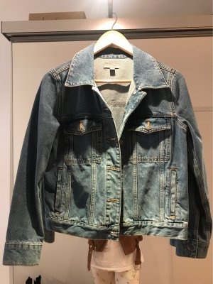 COS Denim Jacket cornflower blue