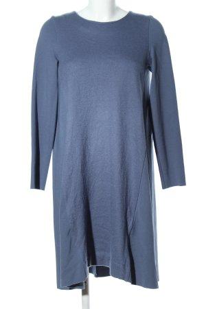 COS Robe en jersey bleu moucheté style décontracté