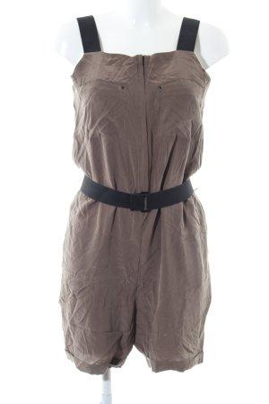COS Jumpsuit bronzefarben-schwarz Casual-Look