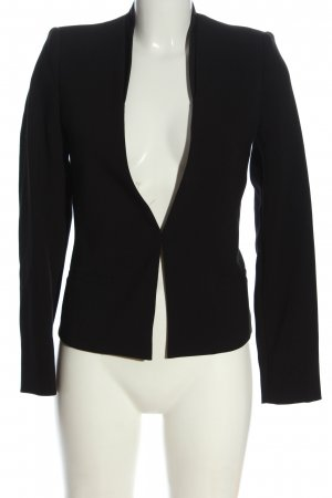 COS Hooded Coat black business style