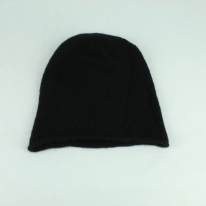 COS Knitted Hat black cashmere