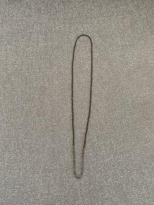 COS Collar de perlas marrón grisáceo-color plata