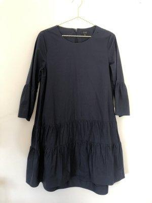 COS A Line Dress dark blue