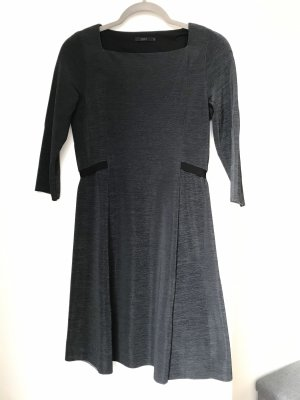 COS Robe trapèze gris anthracite-gris foncé