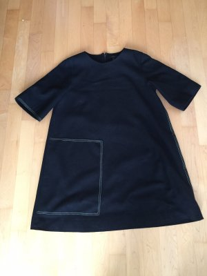 COS Woolen Dress black