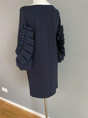 COS Vestido estilo flounce azul oscuro